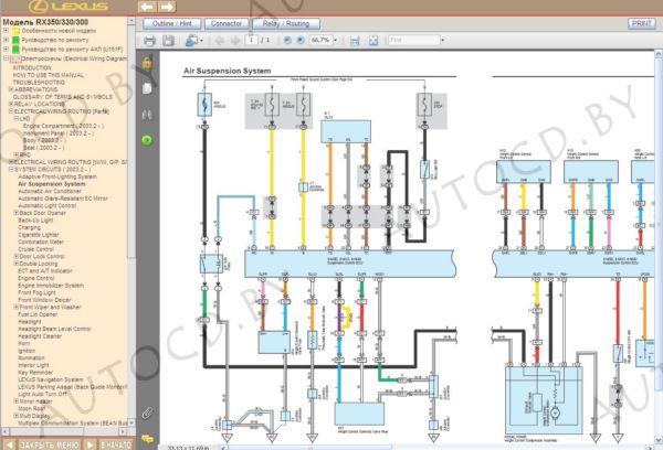 Подробная инструкция по ремонту и обслуживанию, цветные электрические схемы, кузовные размеры.  19.10.2010, 653...