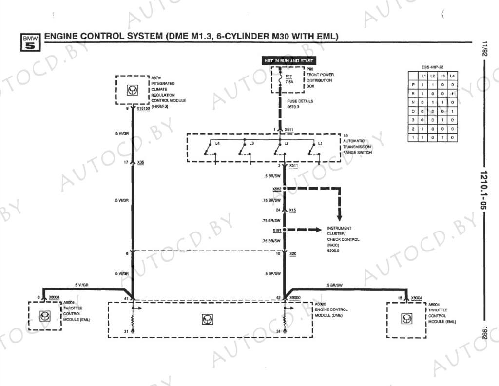 Руководство по электрике BMW (БМВ), электросхемы BMW, схемы электропроводки, распиновка разъемов, и другая информация...