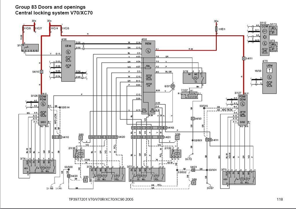 1994 Volvo 850 Vacuum Diagrams on 1999 Volvo S70 Fuel Pump Relay Location